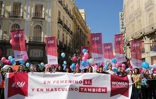 """El fracaso de la manifestación antifeminista bajo el lema """"en masculino también"""""""