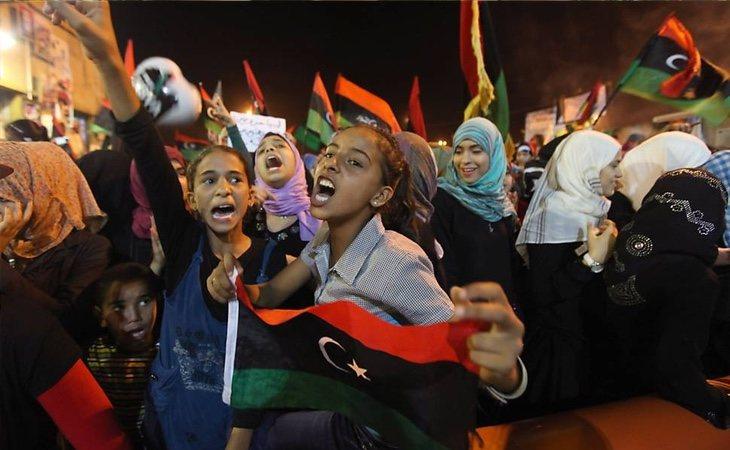 Las Primaveras Árabes en Libia han dejado un país en absoluta descomposición