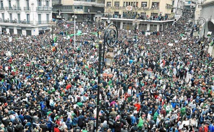 Las movilizaciones en Argelia han sido constantes durante las últimas semanas
