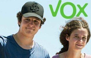 Casa Real da un toque de atención a los hijos de la Infanta Elena por mostrar apoyo a VOX