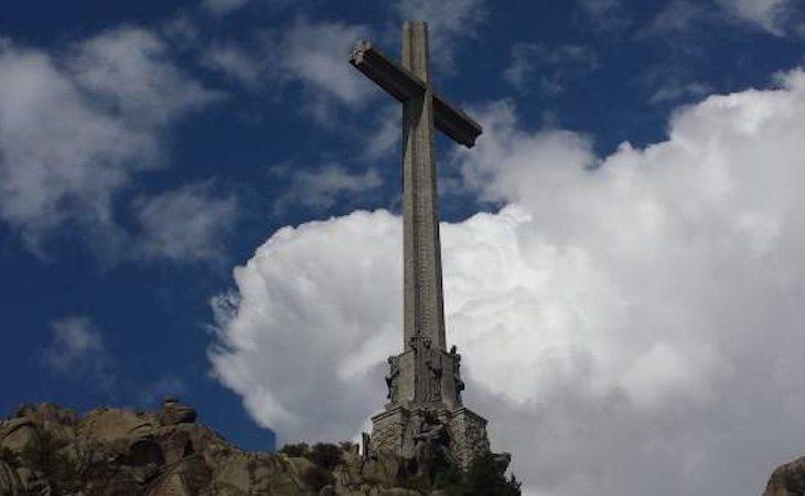La cruz de la Basílica del Valle de los Caídos