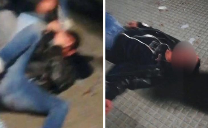 Imágenes de la agresión al joven en León
