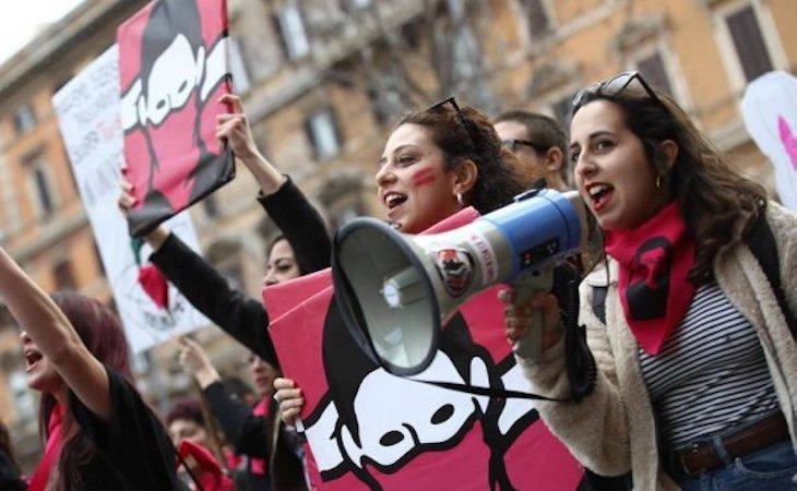 Los colectivos feministas han potestado en contra de la decisión