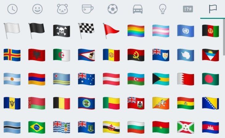 Se van a incluir más banderas LGTBI entre los emoticonos de WhatsApp