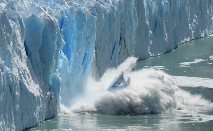 Fusión del hielo de nuestros glaciares