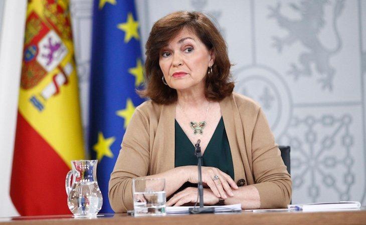 Carmen Calvo ha aprobado exhumar los restos de Franco el 10 de junio