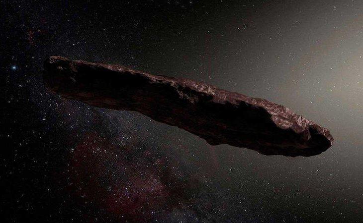 El Oumuamua es la primera roca interestelar que ingresa en el Sistema Solar
