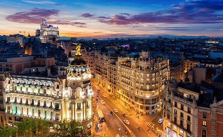 Madrid es la segunda ciudad de España en entrar en la lista