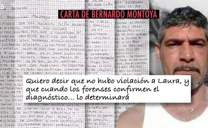 Carta de Bernardo Montoya a 'El Programa de Ana Rosa'