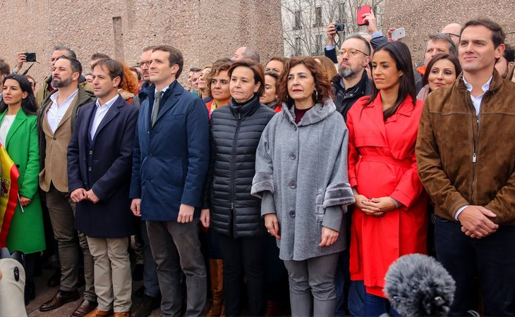 VOX, PP y Ciudadanos, el autodenominado