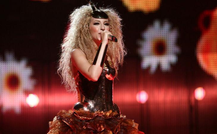 Catalanas como Gisela representaron a Andorra en Eurovisión