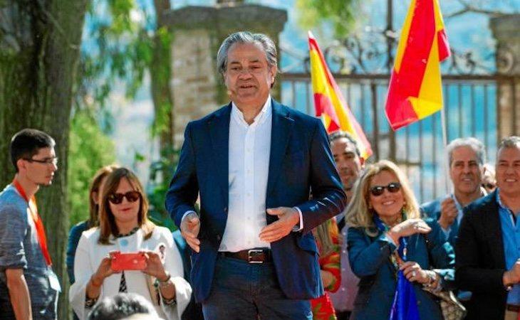 El número dos de Ciudadanos por Madrid, Marcos de Quinto, el día de su presentación