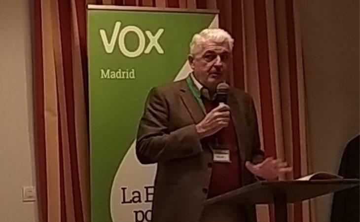 Jorge Cutillas en las terceras Jornadas de Coordinación de VOX | Fuente: Twitter
