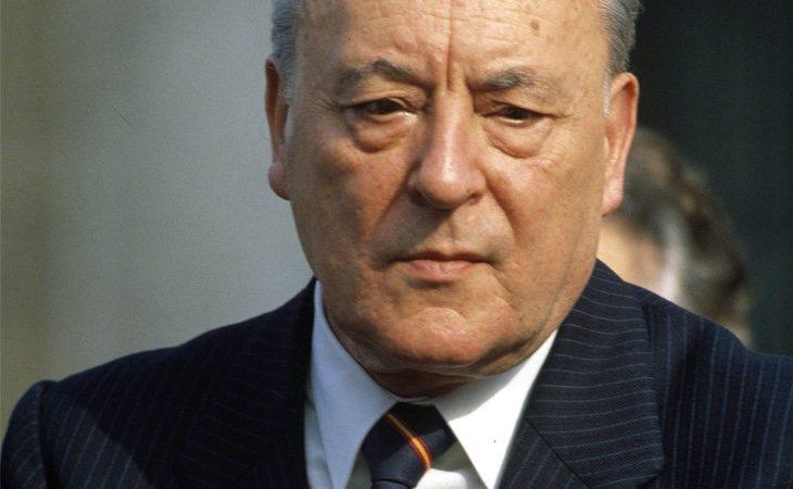 Blas Piñar, fundador del partido Fuerza Nueva