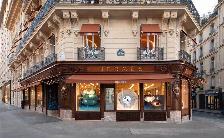 La organización continua en el accionariado de firmas de lujo como Hermès