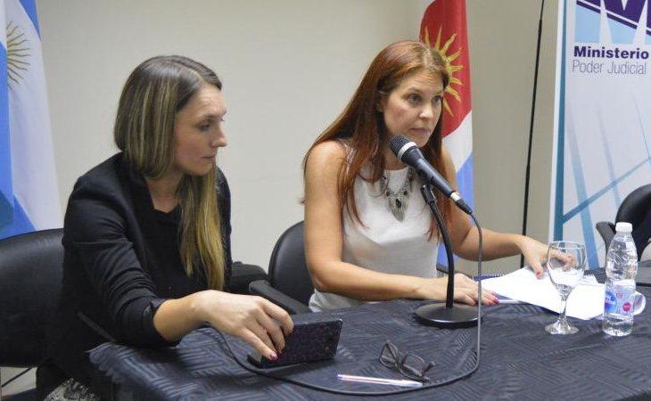 Las fiscales del caso, Érika Leguizamón y Jésica Lucas