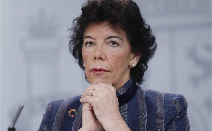 Isabel Celaá | Portavoz del Gobierno