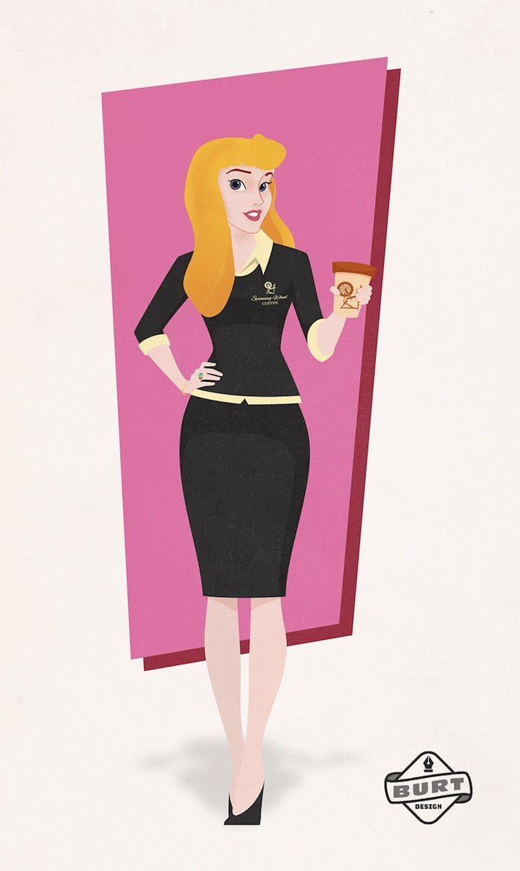 Aurora mantendría a todo el mundo despierto con su café
