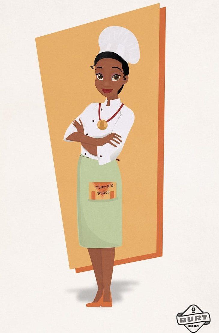 Tiana cumpliría su sueño de ser una chef reconocida