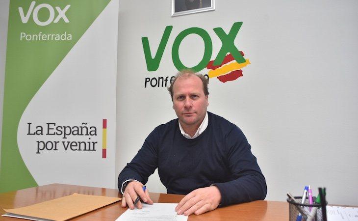 Carlos Portomeñe, ex presidente de VOX en León