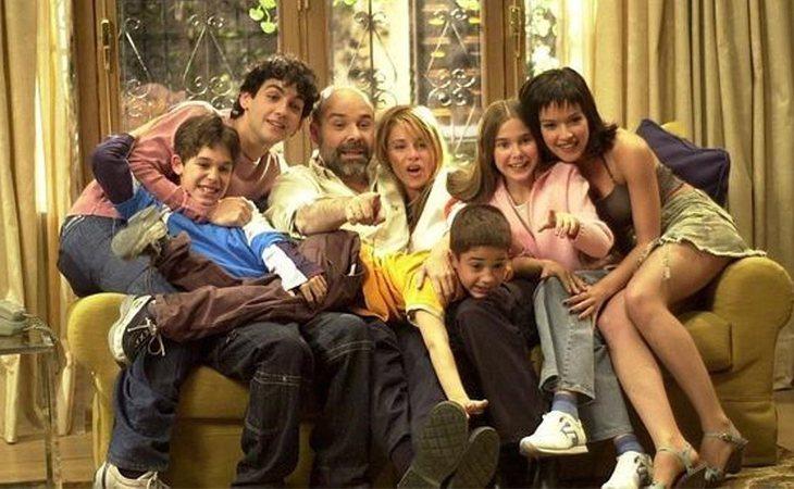 La familia protagonista de 'Los Serrano'