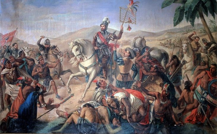 Batalla de Otumba en 1520