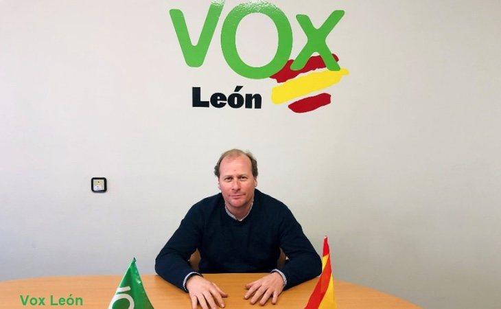 Carlos Portomeñe, exdirigente de VOX en León