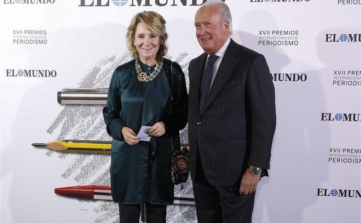 Esperanza Aguirre en la XVII Edición de Premios Intenacionales de Periodismo del diario El Muno