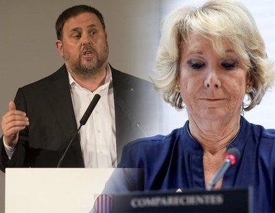 Una de las 'ranas' de Esperanza Aguirre en Gürtel recoge votos para Junqueras en la cárcel