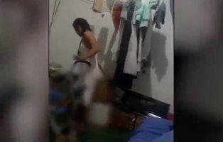 Graban a una mujer dando una brutal paliza a un bebé y lo difunden en redes para denunciar