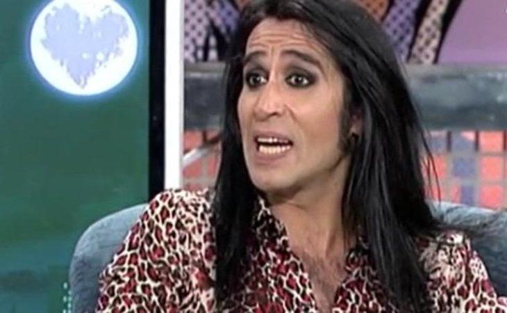 Mario Vaquerizo, en una de sus últimas apariciones televisivas