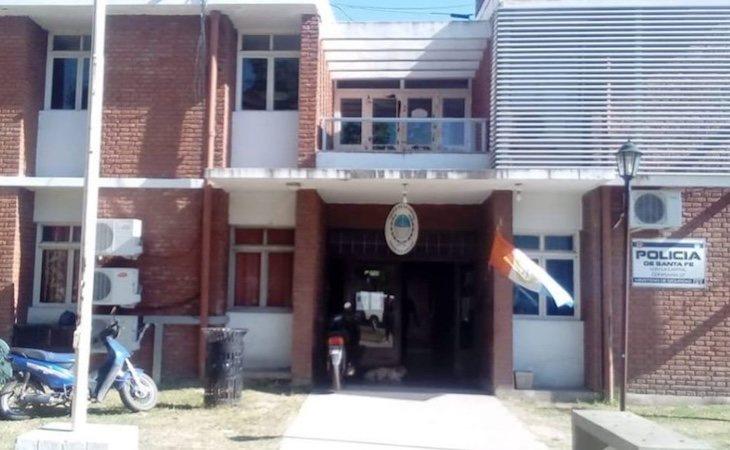 Comisaría de Santa Fe a la que fueron trasladados los agredidos