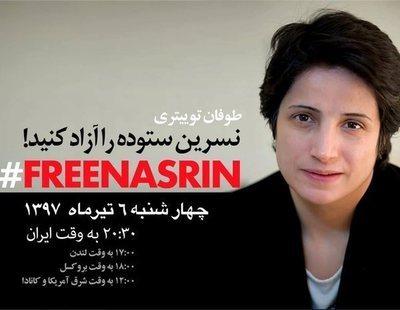 Condenan a una abogada iraní a 148 latigazos y 38 años de cárcel por criticar el velo
