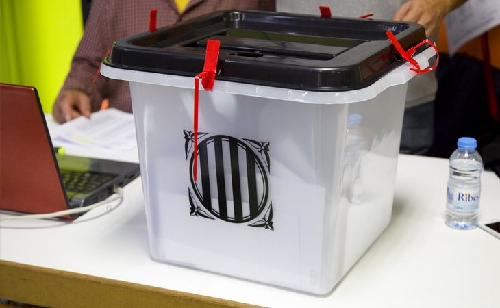 La Constitución española no permite la celebración de un referéndum