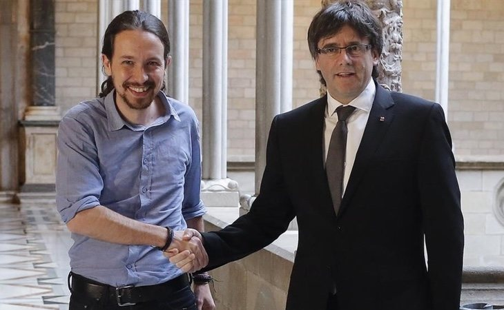 El apoyo de Podemos a la celebración de un referéndum ha hundido su horizonte electoral