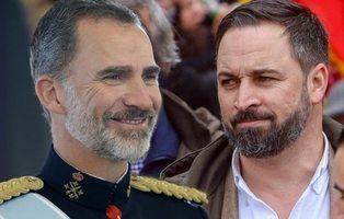 Toda la familia directa del Rey Felipe que apoya públicamente a la ultraderecha de VOX