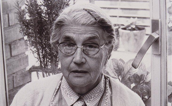 María Moliner en sus últimos años