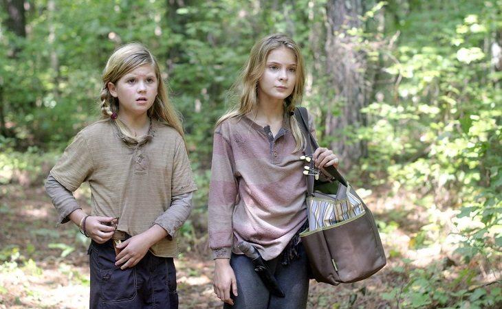 Lizzie asesinó a Mika y Carol a Lizzie en 'The Walking Dead'