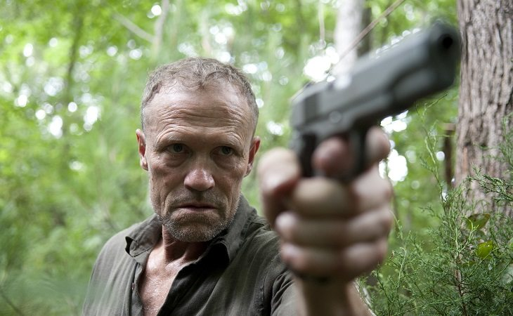Merle murió tras recibir un disparo en 'The Walking Dead'