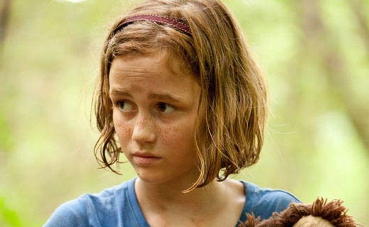 Sophia apareció convertida en caminante en 'The Walking Dead'