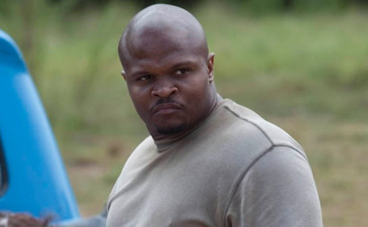 T-Dog fue devorado por caminantes en 'The Walking Dead'