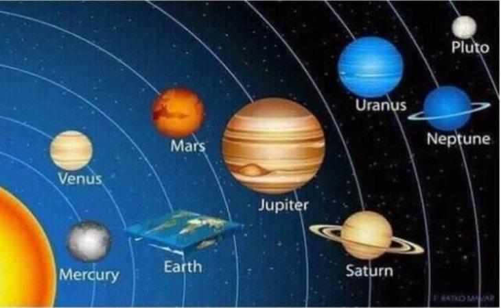 El único planeta con vida