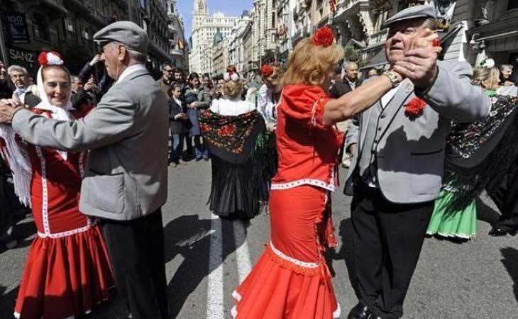 El Chotis, baile típico de Madrid