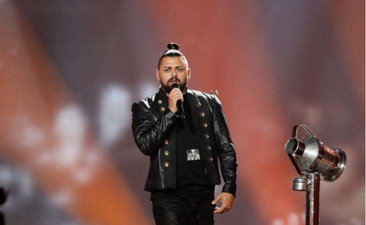 Joci Papái en ensayos de Eurovisión 2017