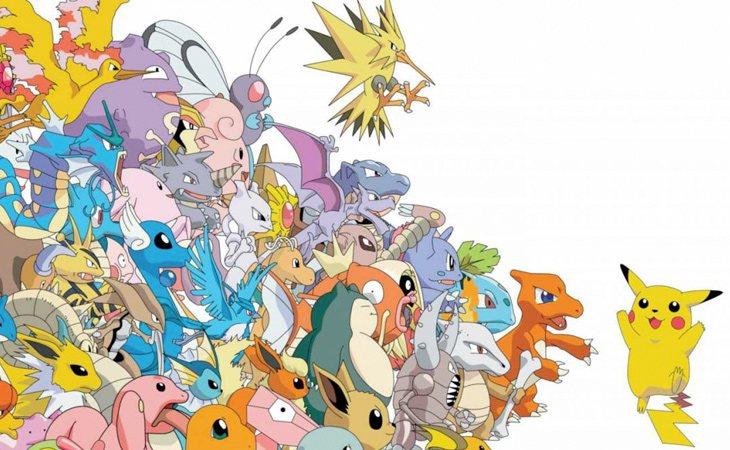 La primera generación tuvo 151 Pokémon