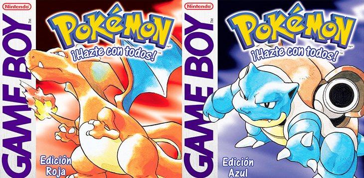 'Pokémon Rojo y Azul' fueron los primeros juegos que llegaron a occidente