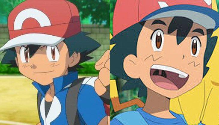 Ash cambió en 'Pokémon XY' y 'Pokémon Sol y Luna'