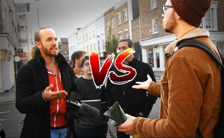 'Sv3rige' se enfrenta a persnas veganas en sus vídeos de youtube