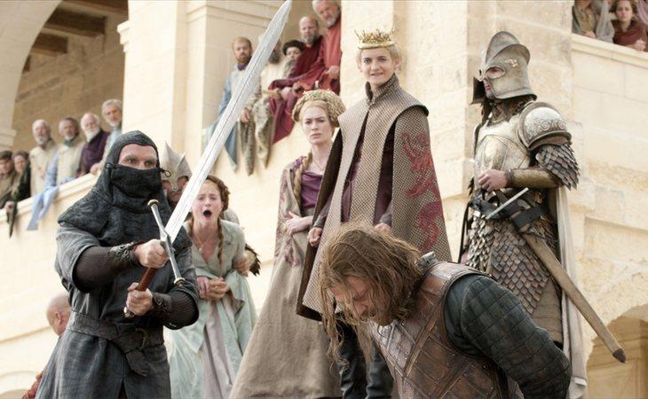 La ejecución de Ned Stark en la primera temporada de 'Juego de tronos'