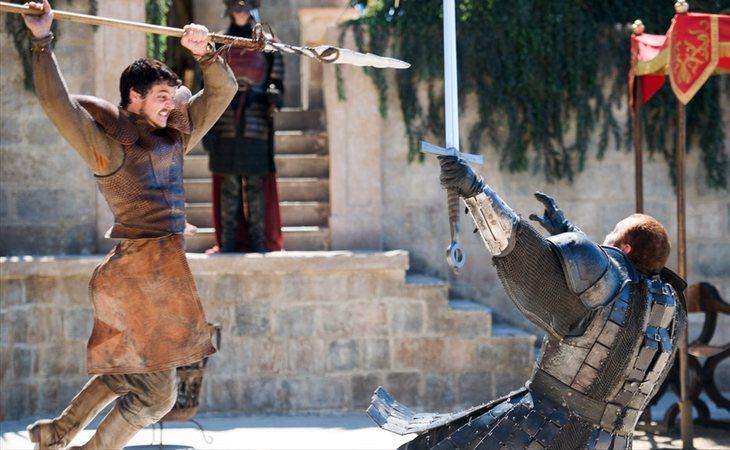 El enfrentamiento entre Oberyn Martell y La Montaña en la cuarta temporada de 'Juego de tronos'